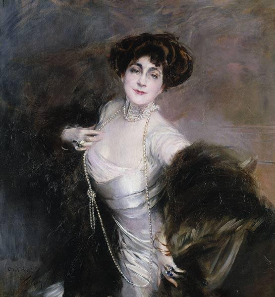 Portrait von Lady Diaz Albertini