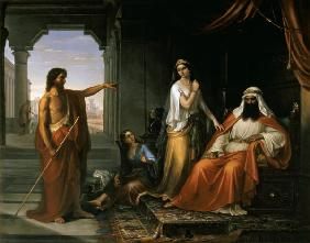 St. John the Baptist rebuking Herod