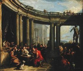 Concert in a Circular Gallery