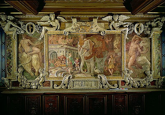 giovanni battista rosso fiorentino en reproductions imprim es ou peintes sur repro tableaux com. Black Bedroom Furniture Sets. Home Design Ideas