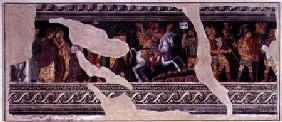 Fragment of a scene of a triumph