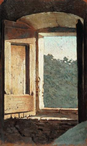 Giuseppe Abbati - The Window
