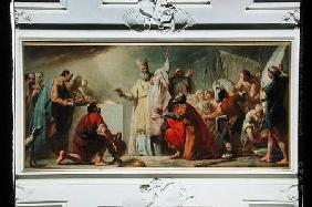 The Sacrifice of Melchizedek
