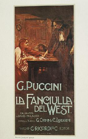 The Girl of the Golden West by Giacomo Puccini (1858-1924)