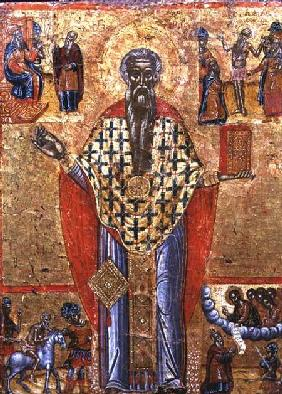 St. Charalambos, icon, from Macedonia