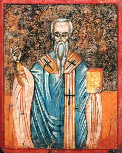 St. Cyril of Alexandria (c.376-444), icon
