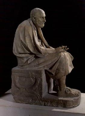 Statue of Chrysippus (c.280-207 BC) the Greek philosopher