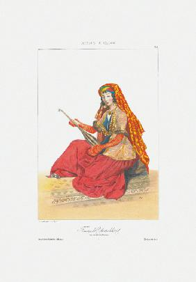 Woman of Shamakhy (From: Scenes, paysages, meurs et costumes du Caucase)