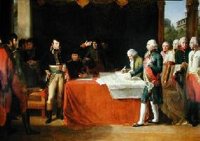 Preliminaries of the Peace Signed at Leoben, 17th April 1797