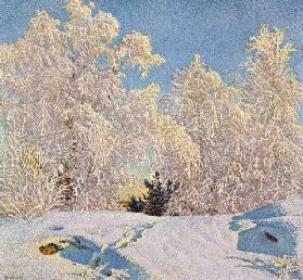 Frost in Sunshine, 1921 (colour litho)