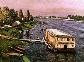 The Pontoon at Argenteuil
