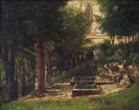 Courbet, Gustave : The Spring in Fouras (A pa...