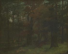 Courbet, Gustave : In the Forest