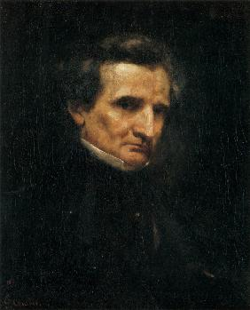 Courbet, Gustave : Portrait of Hector Berlioz...
