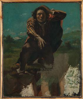 Courbet, Gustave : Self-Portrait (The Man Mad...