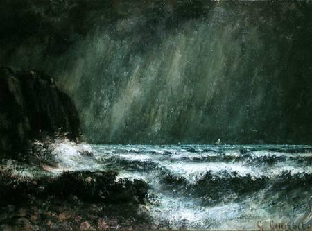 Reproduction imprim�e de Storm at Sea