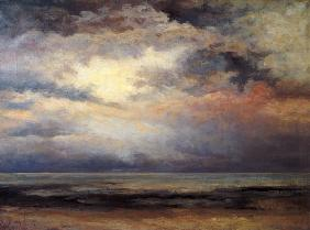 Courbet, Gustave : L'Immensite