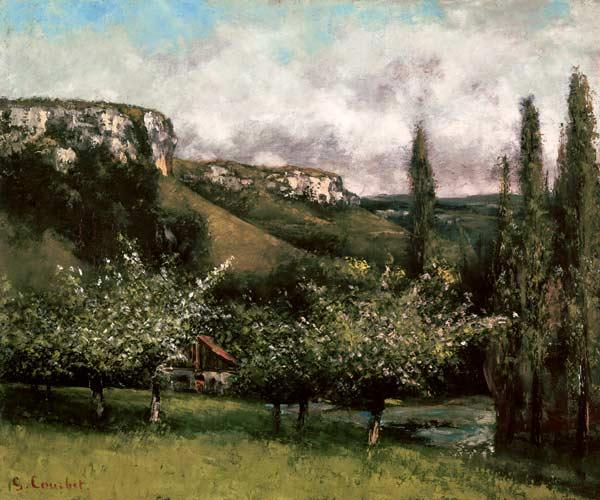 Courbet, Gustave : Apple Orchard