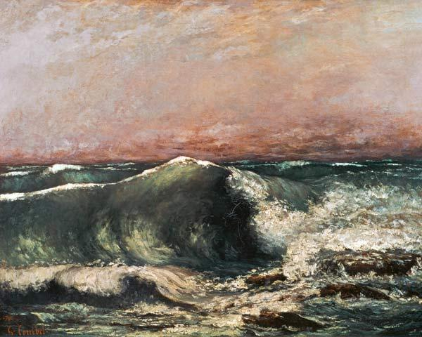 Courbet, Gustave : The Wave