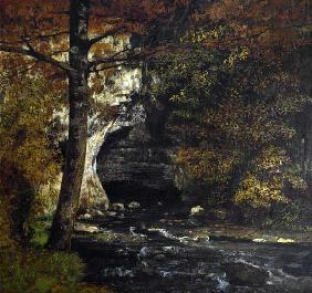 Courbet, Gustave : Dans la for�t.