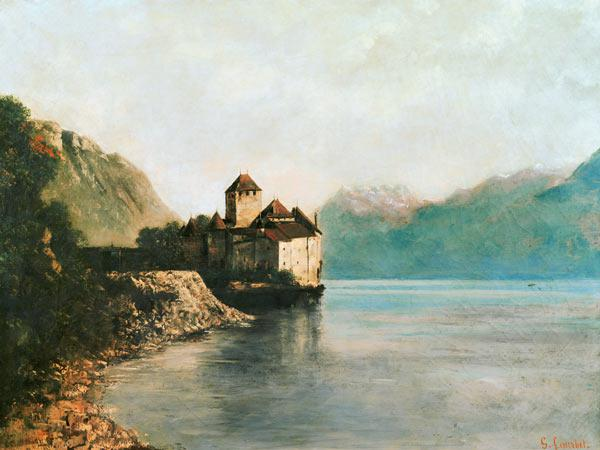Courbet, Gustave : Chillon Castle