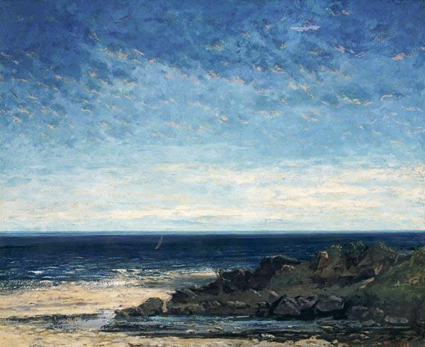 Courbet, Gustave : The Sea