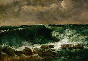 Courbet, Gustave : La vague