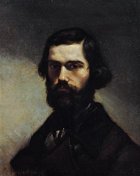 Courbet, Gustave : Portrait of Jules Valles (...