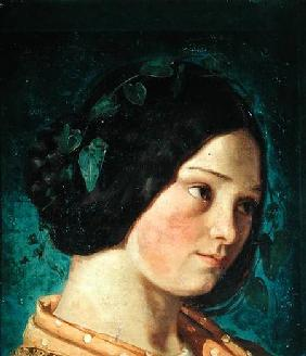 Portrait of Zelie Courbet
