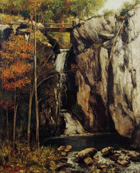 Courbet, Gustave : The Chasm at Conches