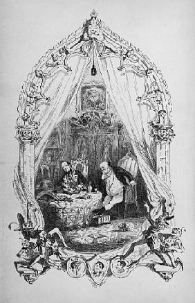 Illustration from `The Pickwick Papers'' Charles Dickens, published by  1837