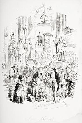 I''m Married, illustration from ''David Copperfield'' Charles Dickens (1812-70) first published by