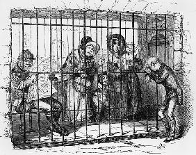 Kit in Jail, illustration from ''The Old Curiosity Shop'' Charles Dickens