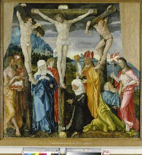 crucifixion du Christ.