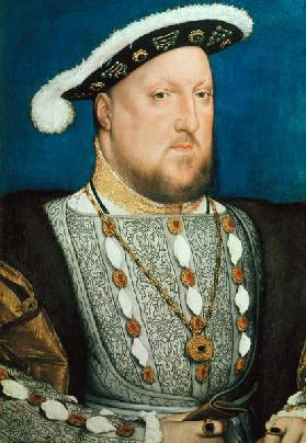 Henry VIII of England / Paint.Holbein