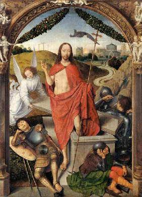 The Resurrection, central panel from the Triptych of the Resurrection