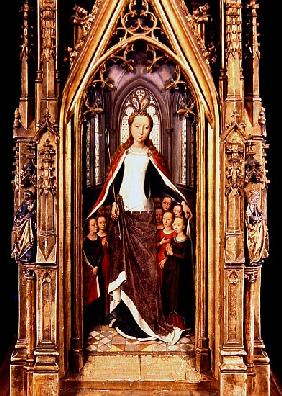 St. Ursula and the Holy Virgins, from the Reliquary of St. Ursula, 1489 (see also 185907)