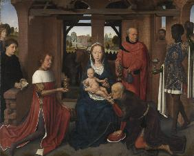 Central panel of the Triptych of Jan Floreins