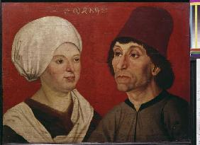 portrait d'un couple.