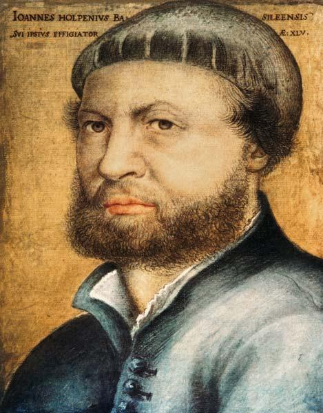 Holbein t.Y. / Selbf-portrait / 1542