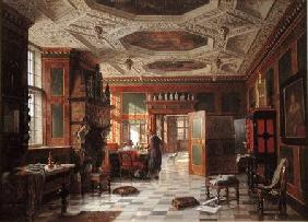 Interior of the Rosenburg Palace, Copenhagen
