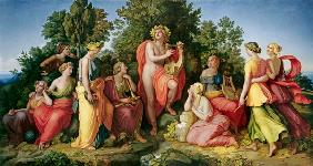 Apollo and the Muses