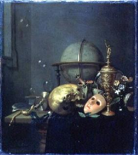 Still Life with a Mask