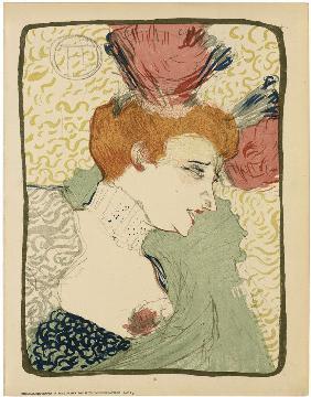 Henri de toulouse lautrec en reproductions imprimes ou - Mademoiselle marcelle ...