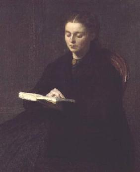 Fantin-Latour, Henri : Reading