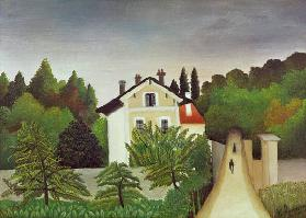 H.Rousseau, Banks of the Oise
