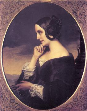 Portrait of Marie d'Agoult (1805-1876)