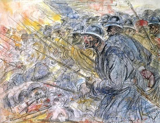 The Assault Verdun Henri De Groux En Reproduction Imprimee Ou Copie Peinte A L Huile Sur Toile
