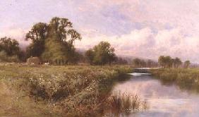 Meadow Landscape near Marlow-on-Thames