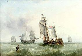 Dutch and British Shipping